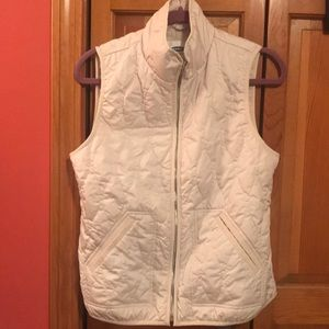 Off-White Quilted Vest
